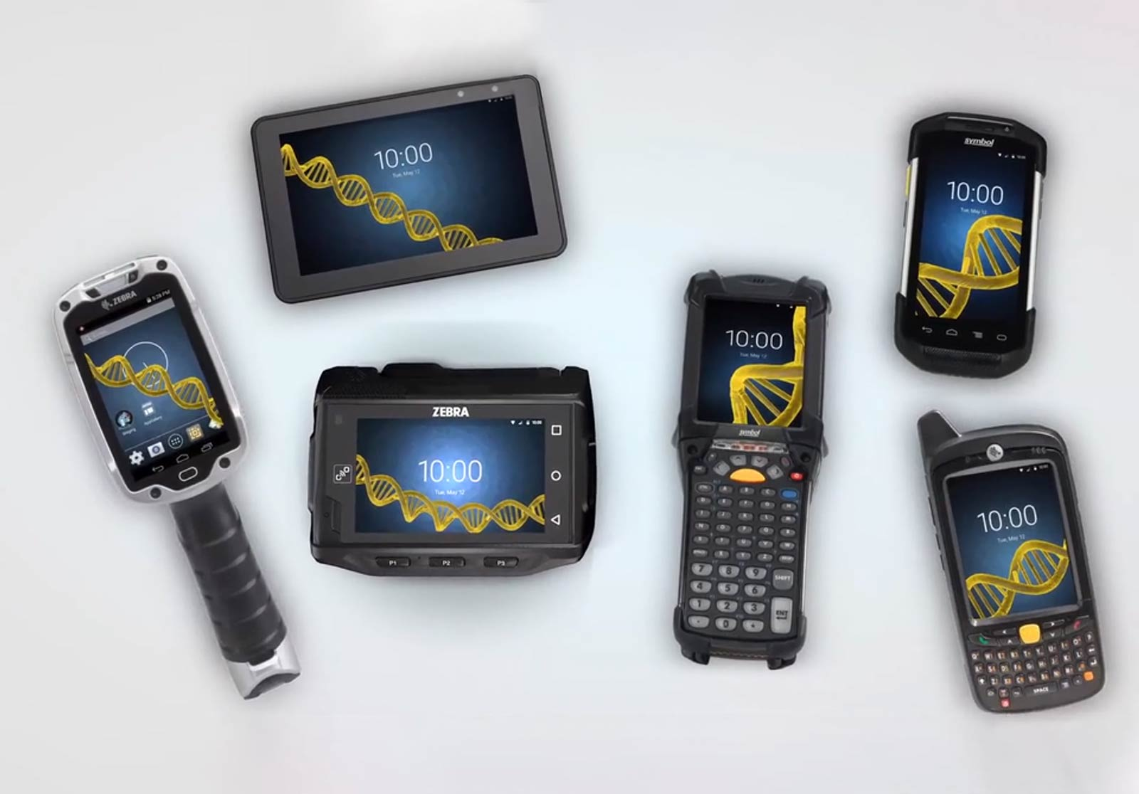 zebra tech barcode scanner devices